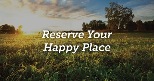 Reserve Your Happy Place